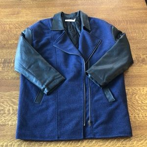 Blue and Black oversized Spring/Fall Jacket